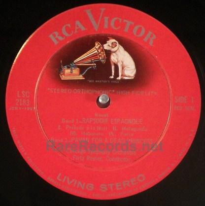 Reiner/CSO - The Reiner Sound original RCA stereo LP 10S