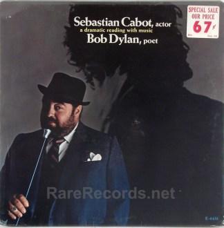 Sebastian Cabot - Sebastian Cabot, Actor, Bob Dylan Poet sealed 1967 LP