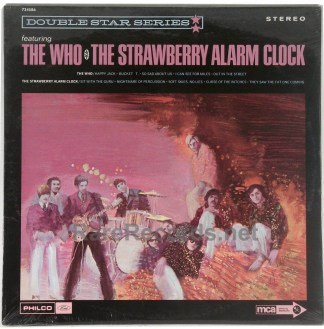 Who/Strawberry Alarm Clock - sealed 1970 promo-only compilation LP