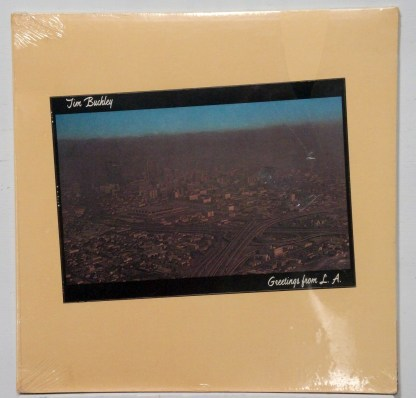 Tim Buckley - Greetings from LA sealed white label promo 1972 LP