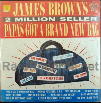 james brown - papa's got a brand new bag u.s. mono lp