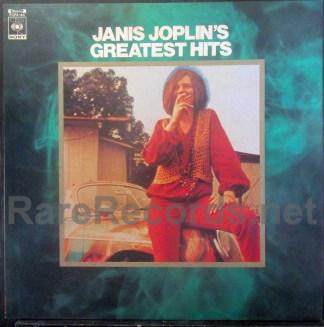 janis joplin - greatest hits japan record club lp