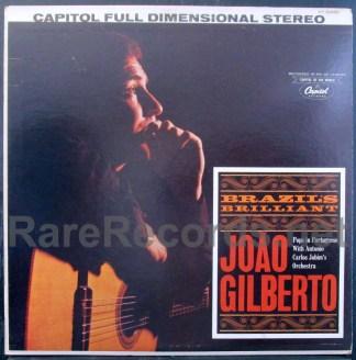 Joao Gilberto - Brazil's Brilliant Joao Gilberto lp