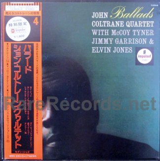 john coltrane - ballads japan promo lp
