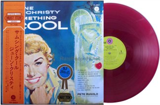 june christy - something cool red vinyl japan lp