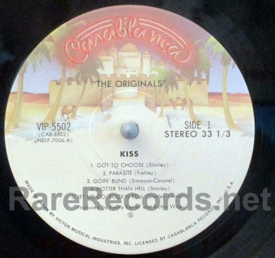 kiss - the originals japan lp