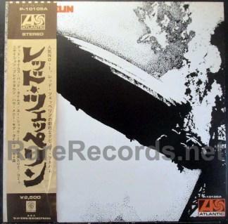 led zeppelin - I japan lp