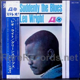 leo wright - suddenly the blues japan lp