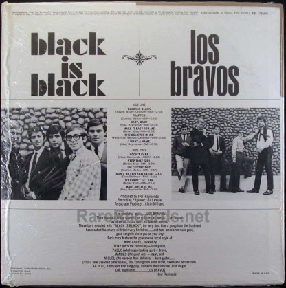 los bravos - black is black lp
