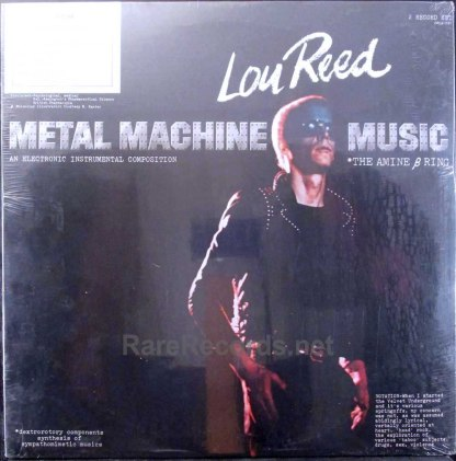 lou reed - metal machine music sealed promo lp