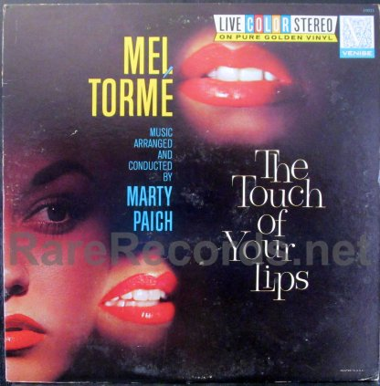 mel torme - the touch of your lips LP