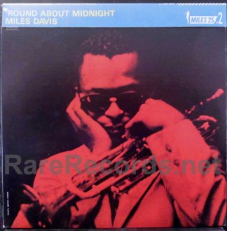miles davis - round about midnight japan lp