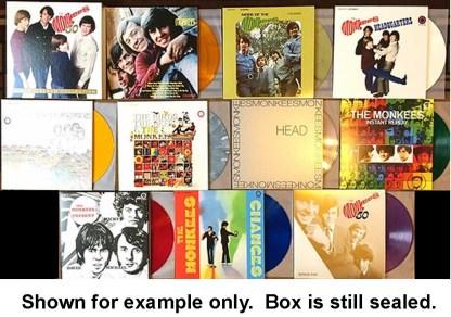monkees - collection 10 LP U.S. box set