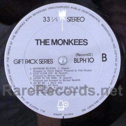 monkees - gift pack japan lp