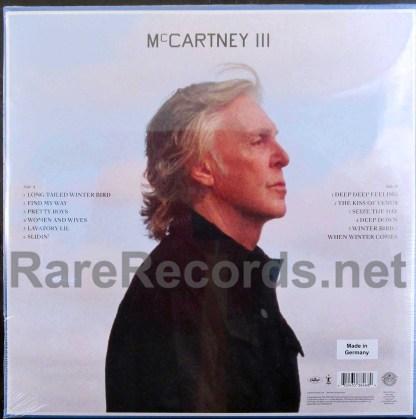 paul mccartney - mccartney III german orange vinyl LP