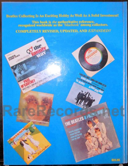 perry cox - beatles price guide third edition hardback book