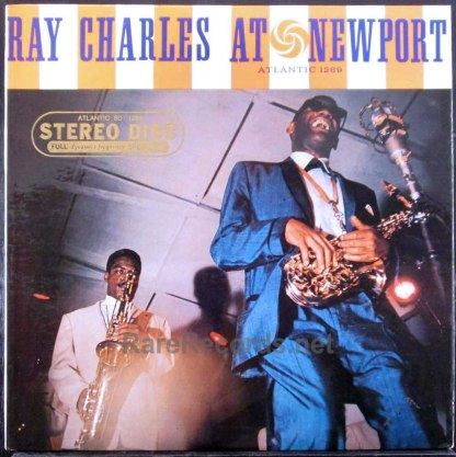 ray charles at newport stereo lp