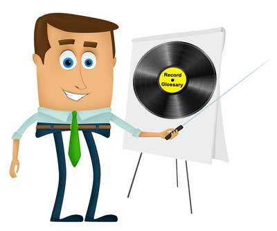 vinyl record collecting glossary