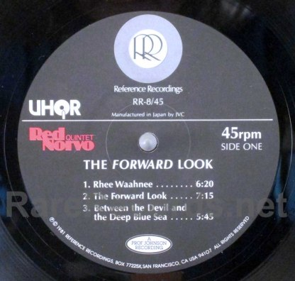 red norvo - the forward look uhqr LP