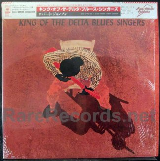robert johnson - king of the delta blues singers japan lp