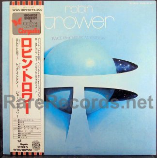 robin trower - twice removed from yesterday japan promo lp