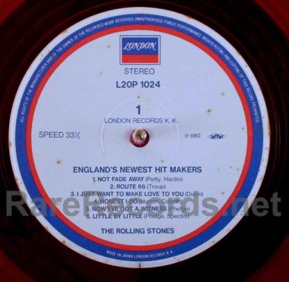 rolling stones - england's newest hitmakers orange vinyl japan lp