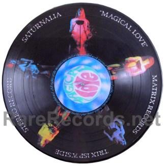 saturnalia - magical love picture disc LP