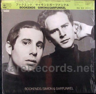 simon & garfunkel - bookends japan lp