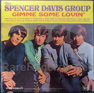 spencer davis group - gimme some lovin u.s. mono lp