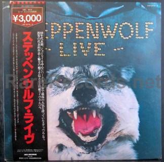 steppenwolf - steppenwolf live japan lp