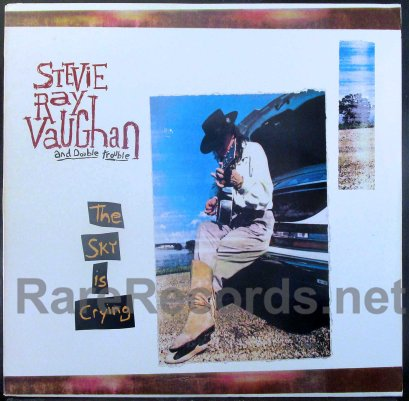 stevie ray vaughan - the sky is crying u.s. LP