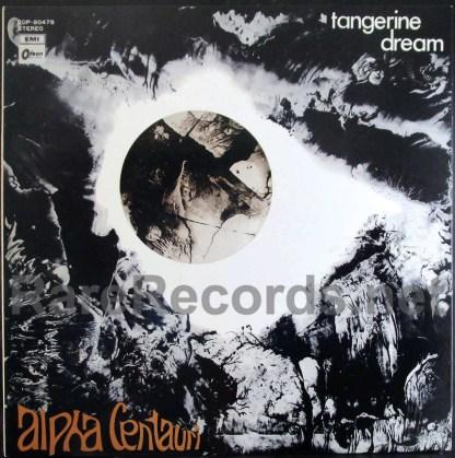 tangerine dream - alpha centauri japan lp