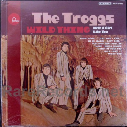 troggs - wild thing stereo u.s. lp