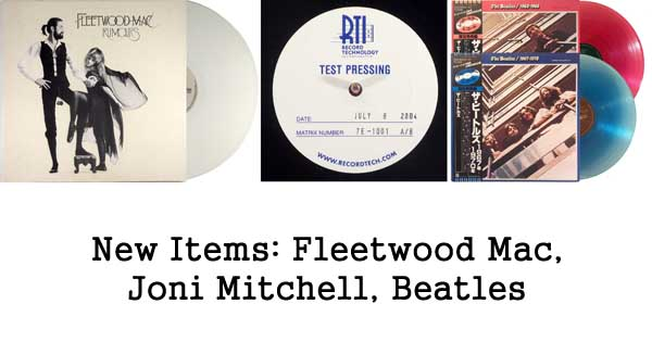 rare records, fleetwood mac, joni mitchell, beatles