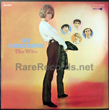 who - my generation japan lp