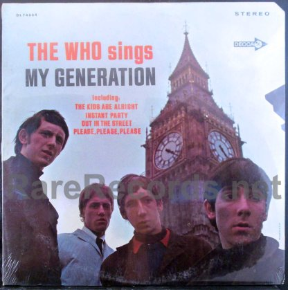 the who - my generation u.s. stereo lp