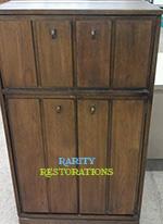 Finding Vintage Pieces - Lane Liquor Cabinet