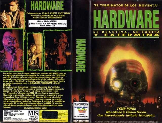 Hardware (Cyberpunk - Iggy Pop - Lemmy)   RaroVHS: VHS Argentina