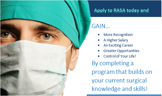 Apply surgical assistant program