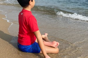 🇧🇬 Bonjour la mer Noire avec mon petit Yogi 🧘🏻♂️