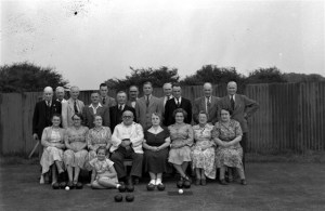 77. Bowls Club. Rasen Mail glass neg 077