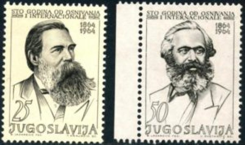Маркс и Енгелс