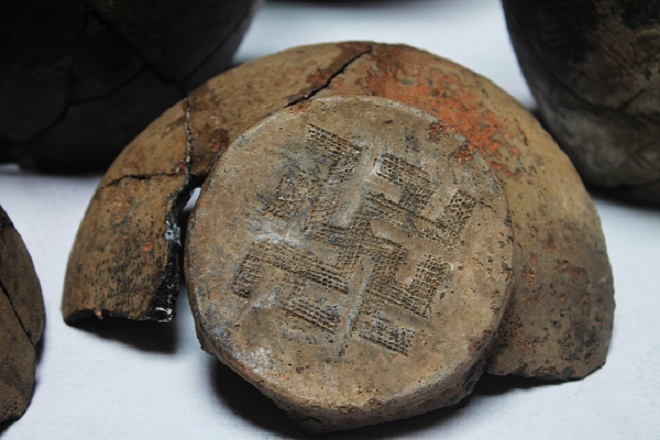 Откривене посуде древних Аријеваца