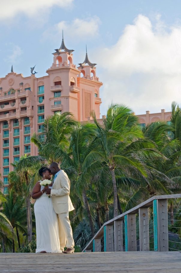 Mr. and Mrs Hunter Wedding at Atlantis resort and casion Paradise Island the Bahamas.