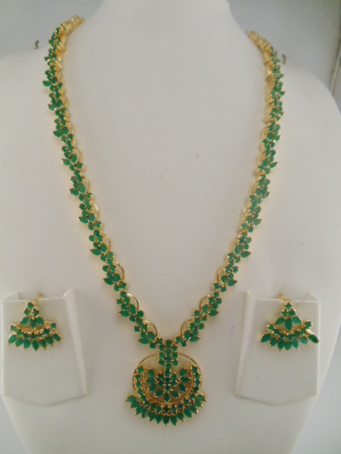 Indian Jewelry Gemstone Necklaces