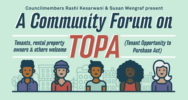 Community Forum on TOPA