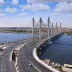 فتح كوبرى تحيا مصر بعد انتهاء الصيانة