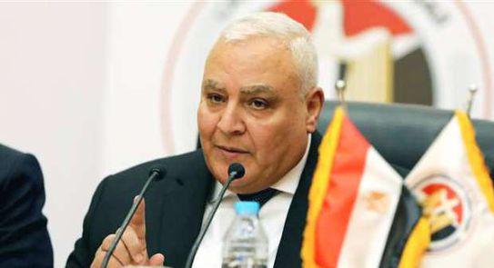 المستشار لاشين إبراهيم رئيس الهيئة العليا للانتخابات