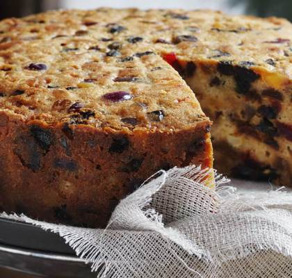 Australian Fruit Cake Recipe