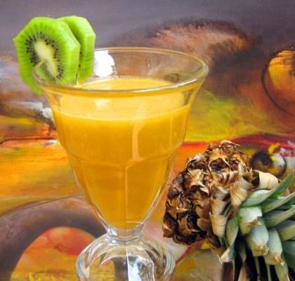 pineapple-lime punch recipe by rasoi menu